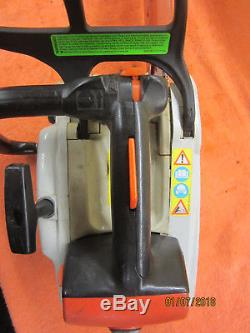 Stihl MS192T MS 192 T chainsaw, top handle, lanyard loop
