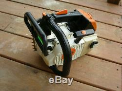 Stihl MS200T Used Very little Arborist Chain Saw MS 200 T NO CHINA PARTS