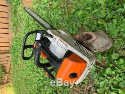 Stihl MS201TC used chainsaw runs good needs repair fix or for parts MS200T 020