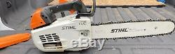 Stihl MS201T Top Handle Arborist Chainsaw VERY NICE SAW 14 Bar-And New Chain