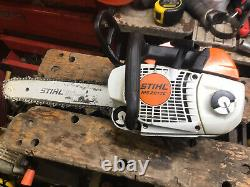 Stihl MS201tc Petrol Chainsaw Climbing Arborist Saw 14 Bar & Chain