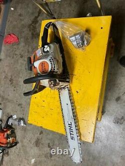 Stihl MS211 chain saw