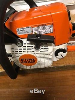 Stihl MS250 18 inch bar Chainsaw Runs Great