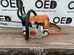 Stihl MS250 Wood Boss Chainsaw 45CC 1-OWNER SAW With 16 Bar New Chain SHIPSFAST