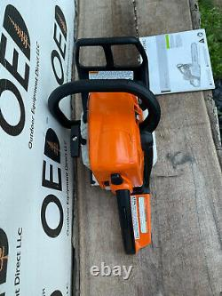 Stihl MS250 Wood Boss Chainsaw 45CC 1-OWNER SAW With 18 Bar & Chain SHIPSFAST