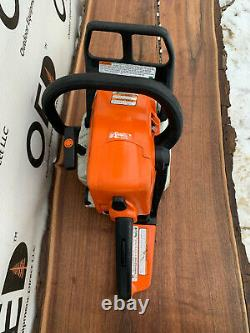 Stihl MS250 Wood Boss Chainsaw 45CC 1-OWNER SAW With 18 Bar/Chain SHIPS FAST