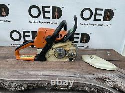 Stihl MS250 Wood Boss Chainsaw 45CC 1-OWNER SAW With 18 Bar & Chain SHIPS FAST
