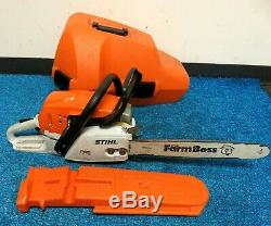 Stihl MS271 Farm Boss Nice Chain Saw withCase Need new chain