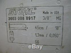 Stihl MS360 036 PRO Chainsaw 18 Stihl Bar & Chain GREAT CONDITION