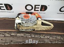 Stihl MS360 PRO Chainsaw 120PSI LOOK & READ 62CC Chainsaw Ships Fast 036