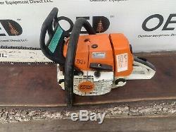 Stihl MS360 PRO Chainsaw 62CC SAW GREAT RUNNING 20 SHIPS FAST / 036