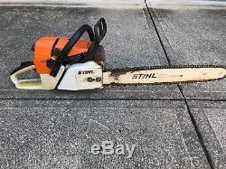 Stihl MS361 Chainsaw Chain Saw 20 Bar and Chain Ready to Cut