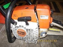 Stihl MS361 PRO Chainsaw 59cc Not RUNNING / needs work 20 BAR