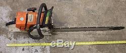 Stihl MS440 Chainsaw modded by Washington Hot Saws 24 Bar 440 044 066