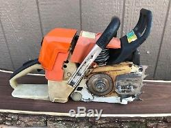 Stihl MS440 Magnum Chainsaw 71cc OEM Saw Starts & Runs Great 25 Bar / 460