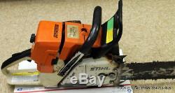 Stihl MS440 Magnum Chainsaw STARTS & RUNS GREAT 71CC Saw 28 Bar