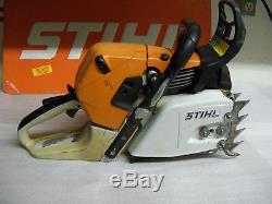 Stihl MS441 chainsaw power head runs excellent everything works