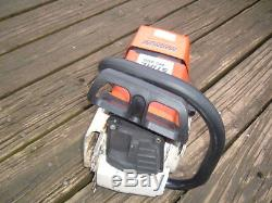 Stihl MS460 Magnum Chainsaw Runs Great Dual Port 046 440 066 660 Caber Rings