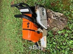 Stihl MS461 chainsaw runs great 28 bar chain ms441 ms460 magnum 576xp 044 046