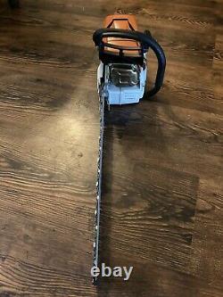 Stihl MS500i Chain Saw 25 Inch ES bar. MS 500 Light Bar Fuel Injection