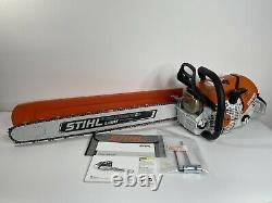 Stihl MS500i Chain Saw 28 inch lightweight bar. MS 500 Light Bar Fuel Injection