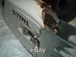 Stihl MS660 066 Magnum Chainsaw 92cc Runs Great oem piston cylinder SEE PICS 661