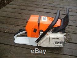 Stihl MS660 Magnum Chainsaw 92cc 066 Runs Great 1122 PHO OEM engine cylinder