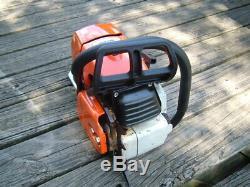 Stihl MS660 Magnum Chainsaw 92cc Runs Great 1122 066 MS661 PHO saw Read See Pics
