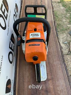 Stihl MS660 Magnum Chainsaw NICE 92cc OEM Saw With 25 Bar & Chain SHIPS FAST