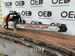 Stihl MS660 Magnum Chainsaw NICE 92cc Saw New 32 Bar/Chain 3/4 Wrap FAST SHIP