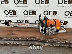 Stihl MS660 Magnum Chainsaw NICE 92cc Saw With 3/4 WRAP New 28 Bar/Chain FASTSHIP