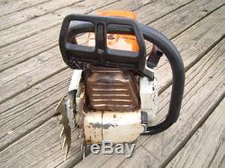 Stihl MS660 Magnum Chainsaw Runs Great 92cc 066 powerhead 95%+ oem good saw 661