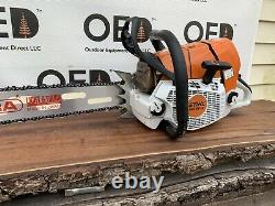 Stihl MS661C Chainsaw / 92cc STRONG RUNNING SAW With New 32 Tsumura Bar/Chain