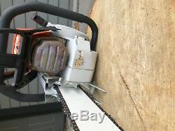 Stihl MS880 Magnum Chainsaw Wrap Handle 47 Bar & Chain with Scabbard