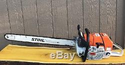 Stihl MS880 Magnum OEM Chainsaw 36 Bar 1 OWNER SAW -122cc VERY LIGHTLY USED