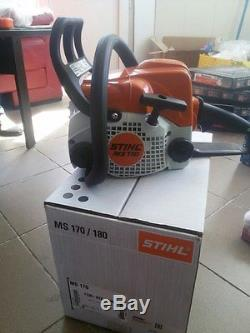 Stihl MS 170, Chainsaw, New, Original, 1.3 kW, 30.1 cc, IN BOX WITH TOOLS