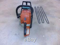 Stihl MS 290 Farmboss Chain Saw with 3 Chains