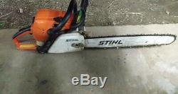 Stihl MS 391 Chainsaw with 20 inch Bar