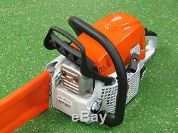 Stihl MS-391 Gas Chain Saw with 20 Rollomatic E Bar, 64cc, DOM May 2019,50cm