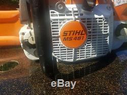 Stihl MS 461 Chainsaw real nice