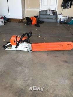 Stihl MS 660 Chainsaw stihl orange arborist logging