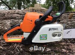 Stihl Ms290 Chainsaw W-18 Bar & Chain (One Owner) All OEM Runs Great