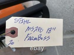 Stihl Ms290 Farm Boss Chain Saw 18