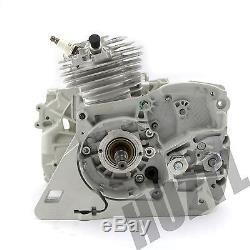 Stihl Ms361 Cylinder Piston Crankshaft Chain Saw Crankcase Oil Tank Engine