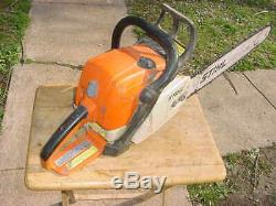 Stihl Ms390 Chainsaw 20 inch bar & chain