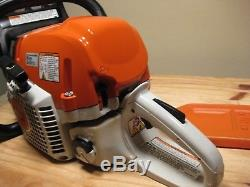 Stihl Ms391 Chainsaw, Complete With 20 Bar Chain, Manual, Runs Perfect