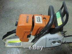 Stihl Ms440 Magnum Gas Powered Chainsaw 20 Cut Bar
