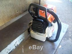 Stihl Ms460 Magnum Chainsaw With 32 Bar Good Running Used Saw Very Powerful