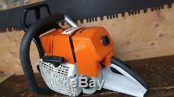 Stihl Ms660 Chainsaw Full Wrap Pro Safety Handlebar New Oem Piston With New Mete