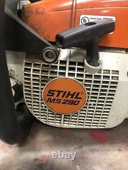 Stihl Ms 290 Chain Saw 20 Inch Bar